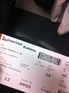 Business Boarding  Pass