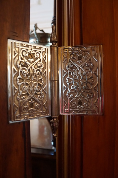 Original hinges on all the doors - just magnificent.