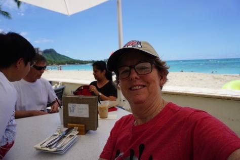 Me on the beach at Waikiki.