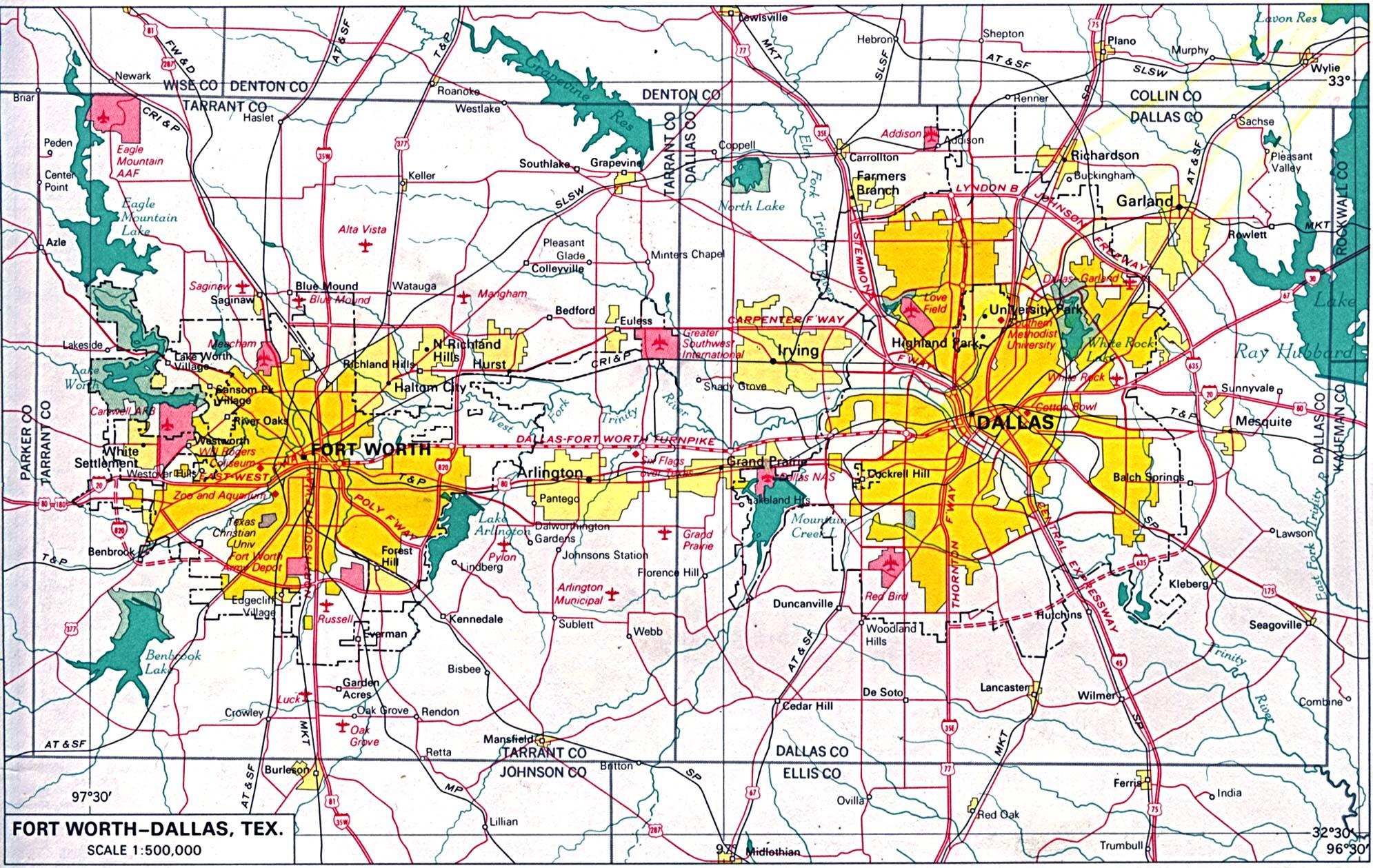 dallas texas map dallas maps texas us maps of dallas door hanger