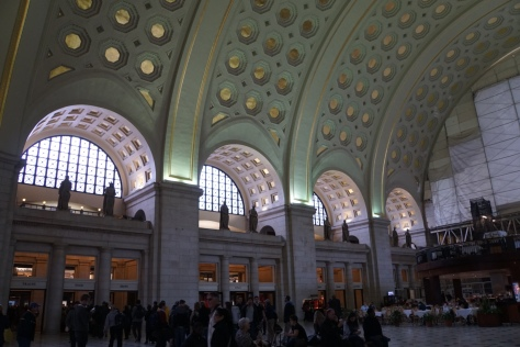 Inside Union Station, Washington DC