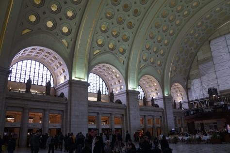 Inside Union Station, Washington DC