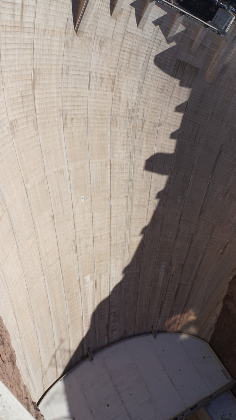 Hoover Dam wall