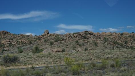 Colours in Nevada and Arizona