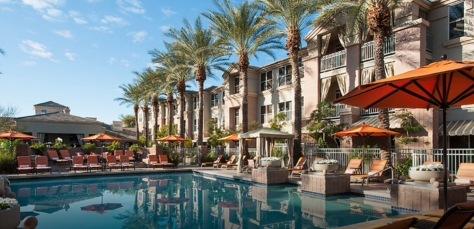 Scottsdale, Arizona, Gainey Suites Hotel.