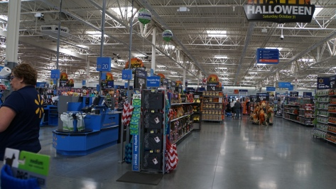 Walmart, Indio, California