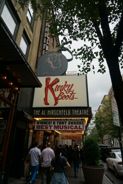 Kinky Boots at the Al Hirschfeld Theatre Broadway 302 West 45th Street Between 8th and 9th Avenues New York NY 10036