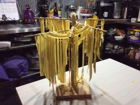Our pasta - fettuccini