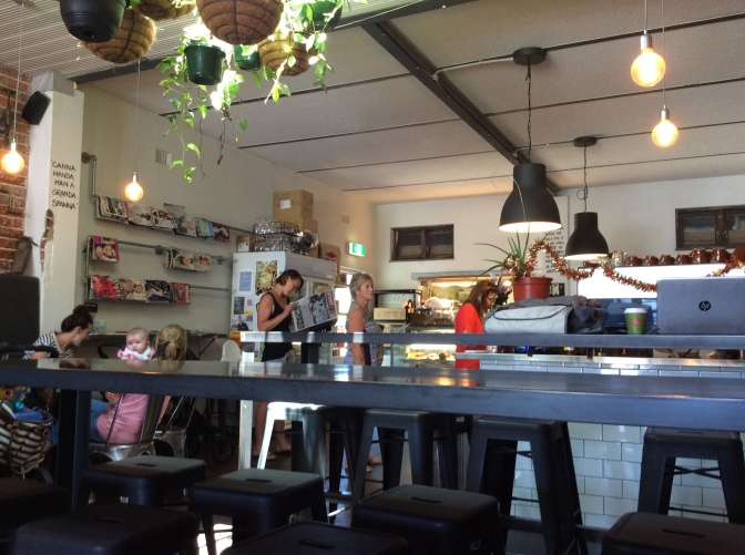 Back home – Perth, Western Australia; The Hardware Store – Brighton Cafe and Eatery