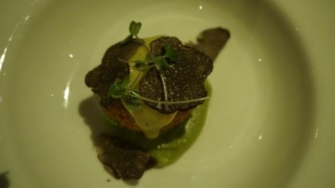Porcini Arancini - its shaved truffles
