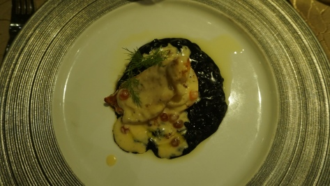 Boston Lobster Squid Ink Risotto