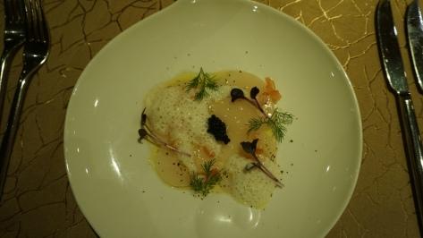 Hokkaido scallops carpaccio