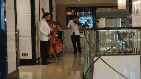Musicians for tea
